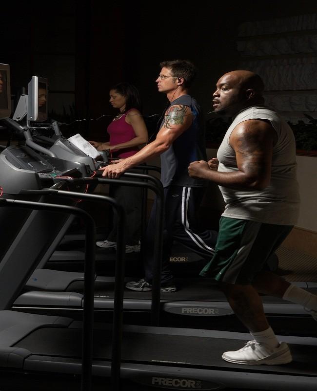 Latihan olahraga nonstop