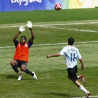 Menang 1-0, Emas Milik Argentina