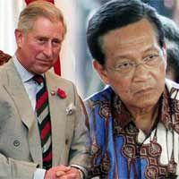 Kunjungi Yogya, Pangeran Charles Temu Kangen dengan Sultan