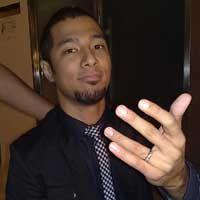 Marcell Bahagia Dewi Lestari Dinikahi Reza
