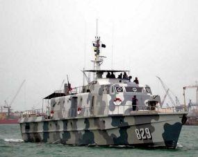 Panglima TNI Resmikan 2 Kapal Perang PC-40