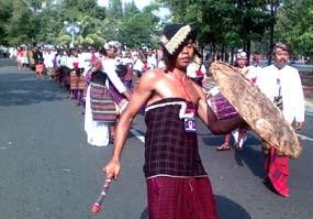 Jatim, Bali dan Sulbar Juara Pawai Budaya Nusantara