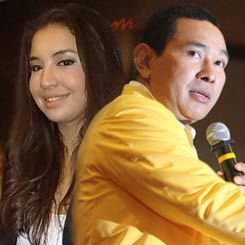 Digosipkan Dengan Tommy Soeharto, Manohara Bersumpah