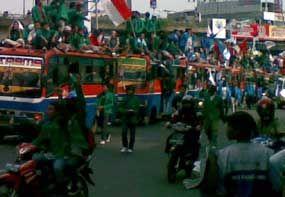 Kerusuhan Makassar Dipicu Ulah 4 Demonstran