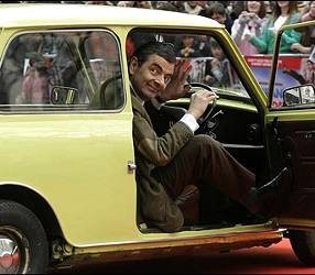 Jaguar Mr. Bean Kebakaran!