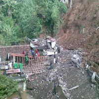 Jalur Garut ke Bandung Masih Terputus
