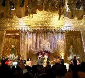 Mewahnya Pesta Pernikahan Nia Ramadhani