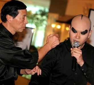 Deddy Corbuzier Jadi Guru Kung Fu