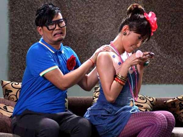 Aksi Indra Bekti di Miss Chatting