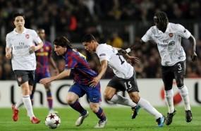 \Barca Lolos, Messi Cetak Gol Pertama\