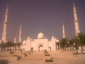 Jejak Sang Presiden dalam Kemegahan Masjid Syech Zayed di Abu Dhabi