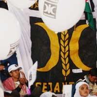 PKS Milad ke-13, Serangan ke Partai Diangkat dalam Pidato