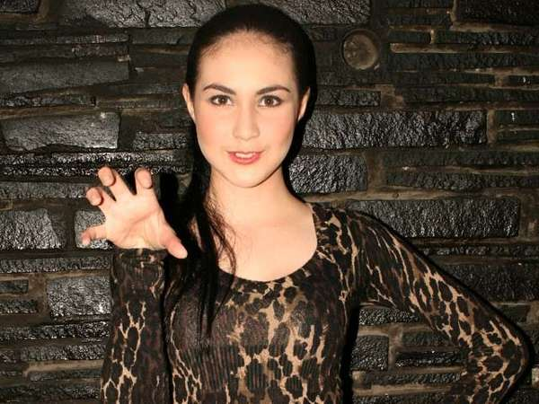 Dress Leopard Seksi Arumi Bachsin