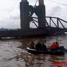 Polri Tetapkan 3 Tersangka Kasus Ambruknya Jembatan Kukar