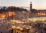 Tersihir Pesona Pasar Malam di Marrakech, Maroko