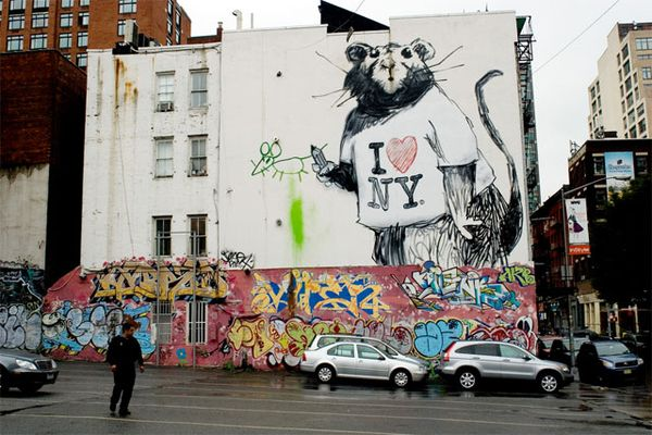 graffiti di new york (sumber: gothamist.com)