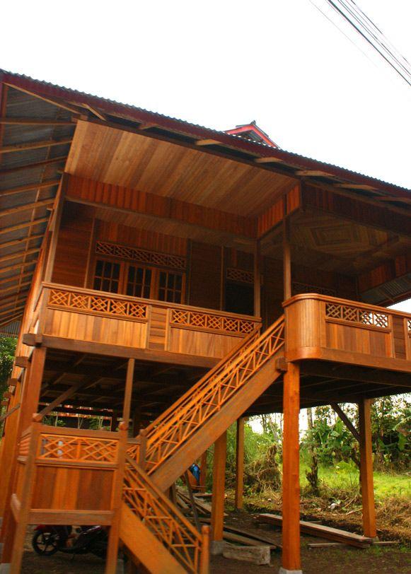 Download foto rumah dan pemandangan di desa