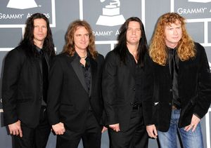 Nominasi Best Hard Rock/Metal Performance Grammy 2012