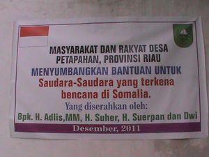 Dibantu Atasi Kelaparan, Somalia Berterima Kasih kepada Warga Riau