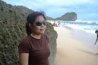 Ada cinta di Pantai Indrayanti