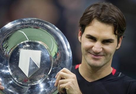 Federer Raih Titel Pertama di 2012