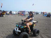 ATV di Pantai Depok