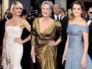 Artis-Artis di Red Carpet Oscar 2012