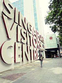 Suasana kota yang nyaman di Singapura