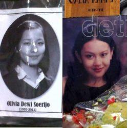 Masih Berduka, Natalie Margareth Enggan Bicarakan Olivia Dewi