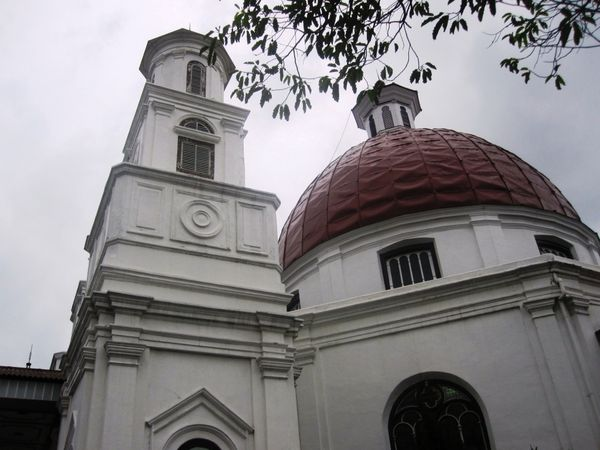 Gereja Blenduk simbol Kota Lama