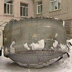 Benda Misterius Seberat 200 Kg Jatuh dari Langit Rusia!