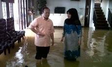 Banjir di Jakarta Barat, 1.980 Warga Mengungsi