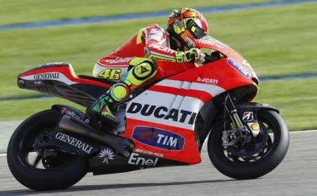 Realistis, Rossi Tak Berharap Banyak di Losail