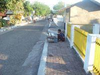 Plang depan rumah (dok. Putri/detikTravel)