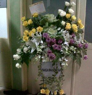 Antasari Azhar Kirim Bunga Untuk Bismar Siregar
