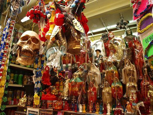 FOTO UNIK : Sonora, Pasar Para Penyihir di Meksiko - Infoinfo unik