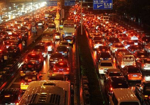 Macet di Beijing (echinacities.com)