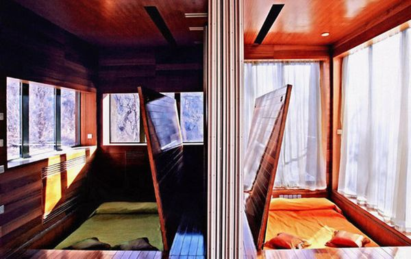 Hotel Commune by the Great Wall (sumber: CNN Go)