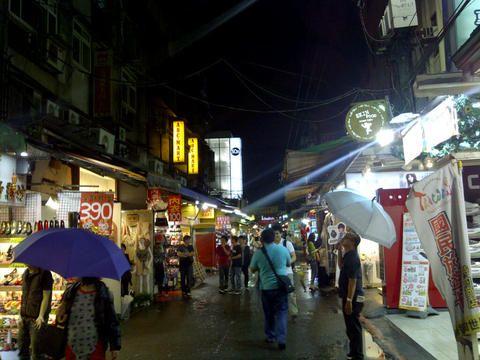 Suasana Shilin Night Market (dok. Fino Yurio Kristo-detikInet)