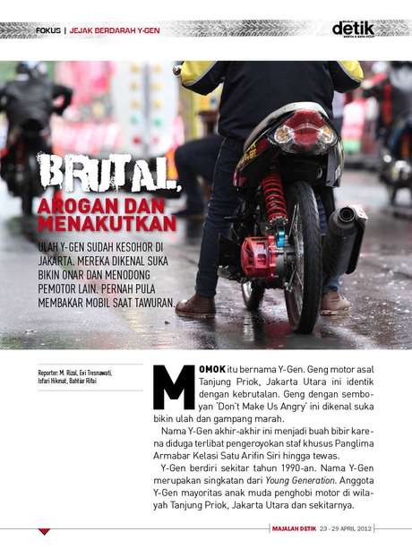 Kisah Geng Motor Brutal di Jakarta Era 70-an: Pachinko
