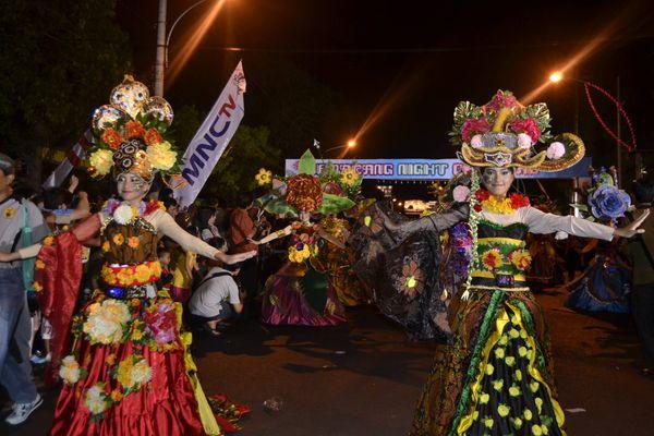 Acara yang meriah (Angling Adhitya Purbaya/detikNews)