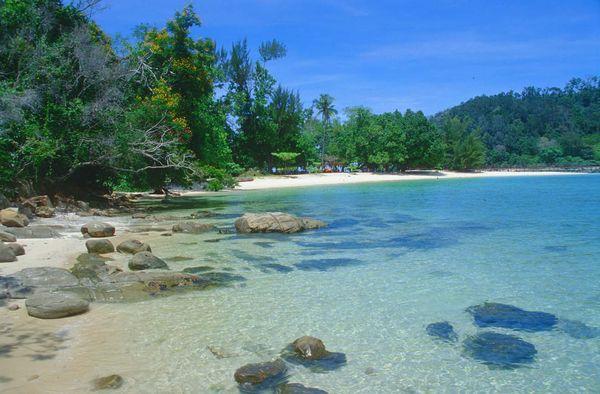 [imagetag] Pelataran Pulau Gaya yang cantik (Sumber: cheapticketstojamaica.org)