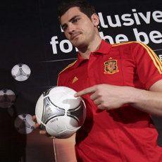Casillas Perkenalkan Bola Final Euro 2012