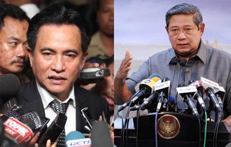 Yusril Kalahkan SBY di Pengadilan, Mensesneg Tertawa