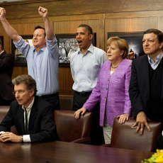 Cameron, Obama dan Merkel Juga \Nobar\ Liga Champions