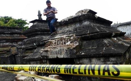 Polisi Buru Pelaku Perusakan Makam Sultan Hasanuddin