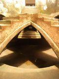 Kolam di masjid bawah tanah (Nicholas/ACI)