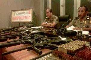 Polisi Sita Puluhan Air Soft Gun Tanpa Izin dari 2 Anggota Perbakin