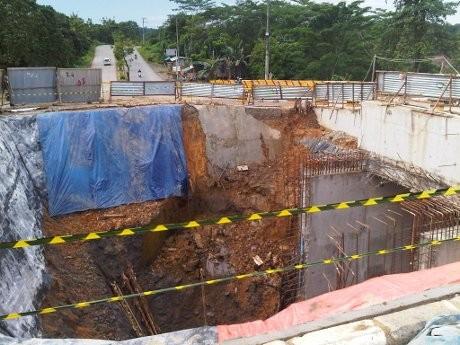Proyek Underpass di Samarinda Longsor, Pekerja Tewas Tertimbun