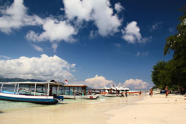 Pantai Gili Trawangan